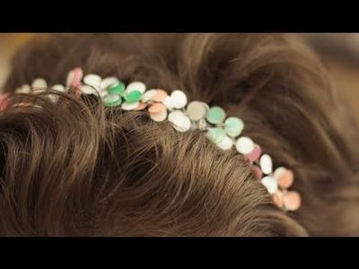 DIY: Cherry Blossom Headband