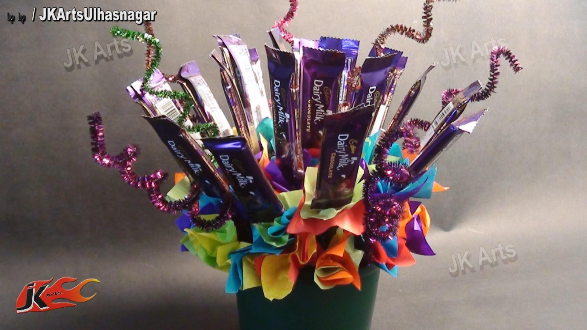 DIY Chocolate Bouquet - Valentine's Day Gift Idea  - JK Arts 628