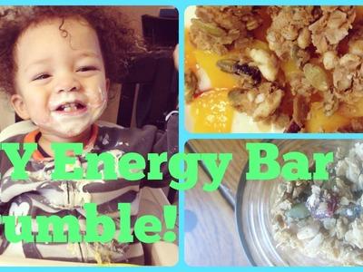 DIY Energy Bar Granola | No-Bake and Nut-FREE