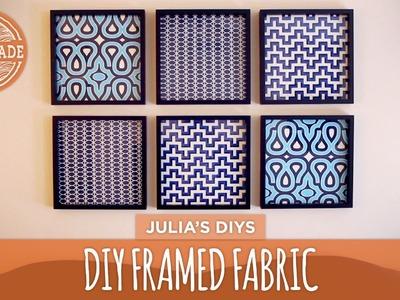 DIY Framed Fabric Gallery Wall - HGTV Handmade