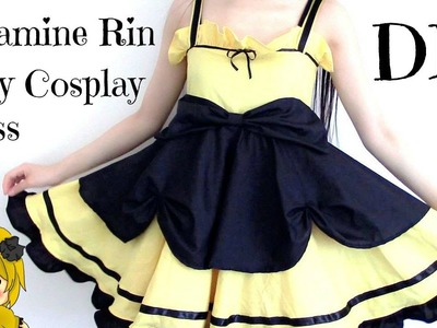 DIY Kagamine Rin Daughter of Evil Inspired Daily Cosplay Dress