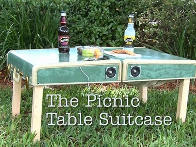 DIY Picnic Table Suitcase!