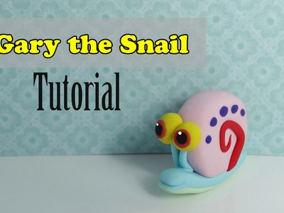 Gary The Snail tutorial by MissClayCreations
