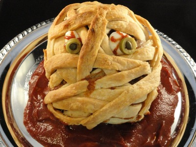 Halloween Mummy Meatloaf