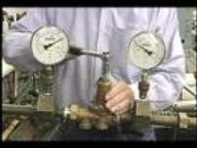 How to Adjust a Water Pressure Reducing Valve