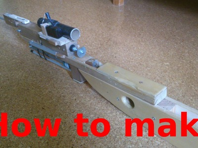 HOW TO BUILD: The airsoft sniper rifle (part 1)