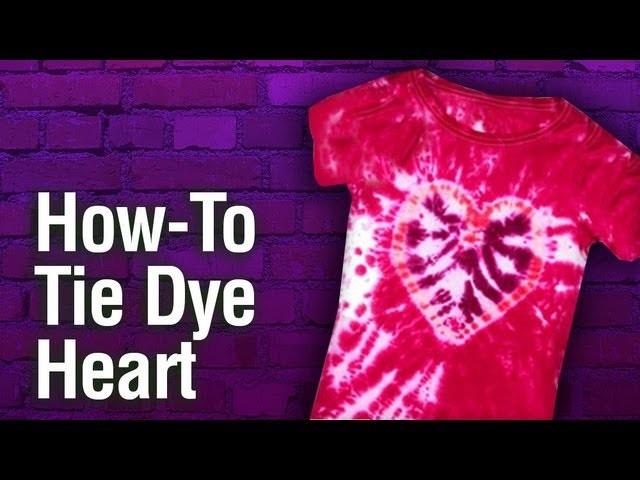 How-To Create Tulip Tie Dye Heart