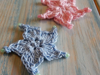 How to Crochet a Small Beaded Star