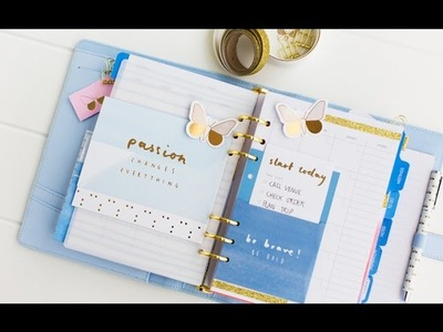 How To Customise your kikki.K Planner & Make it Oh So Pretty