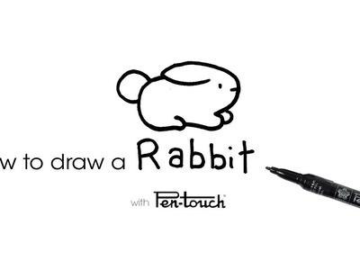 How to Draw a Rabbit Tutorial by Turtle Wayne of Instagram
