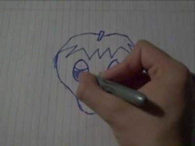 How to draw chibi eyes tutorial