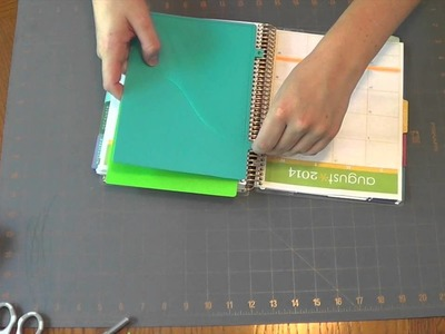 How to Install Clip-In Pockets for Erin Condren Life Planner