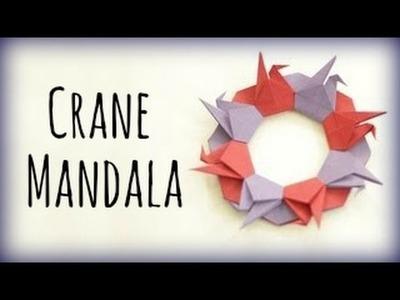 How to make a Crane Mandala (Tsuru Ring)