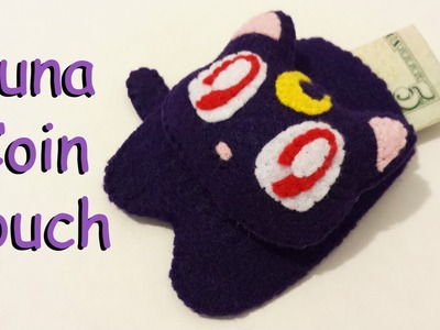 How to Make a Luna Coin Felt Pouch Tutorial