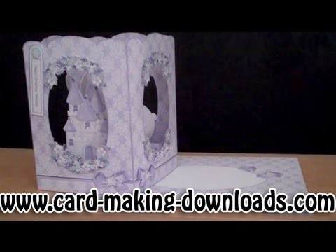 How To Make A Spring Box Card www.card-making-downloads.com