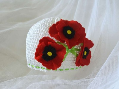How To Make A Summer Hat With Flowers - DIY Crafts Tutorial - Guidecentral