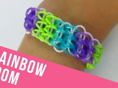 "How To Make a ""Triple The Fun"" Rainbow Loom Bracelet"