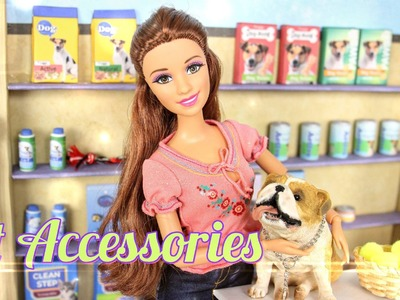 How to Make Doll Pet Shop Accessories - Doll Crafts