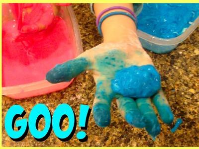How to Make Oobleck Goo | Two Ingredients DIY Oobleck Goo | Slime Ooze DIY