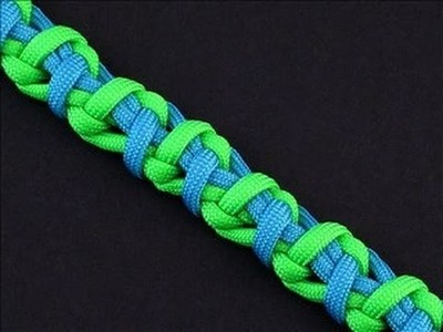 How to Make the Stretched Imagination Bar (Paracord) Bracelet by TIAT
