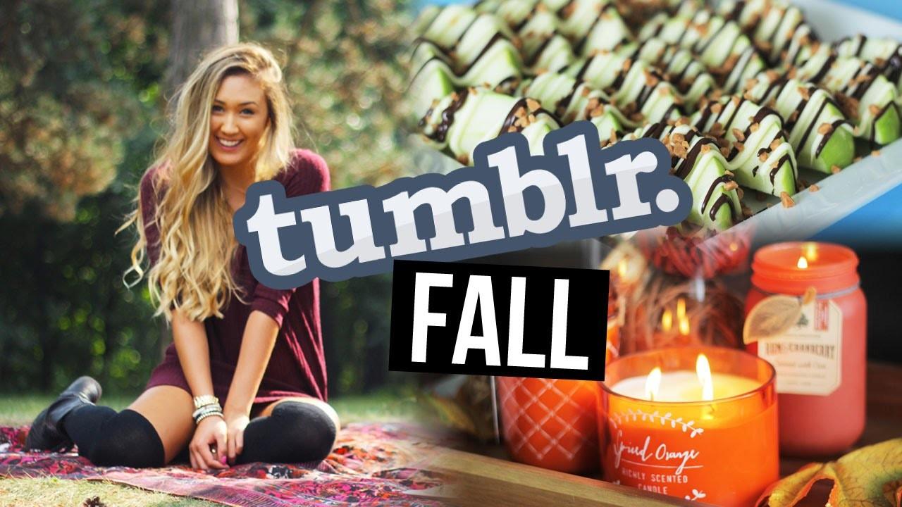 HOW TO MAKE YOUR FALL TUMBLR: DIY Snacks, Style & Decor | LaurDIY