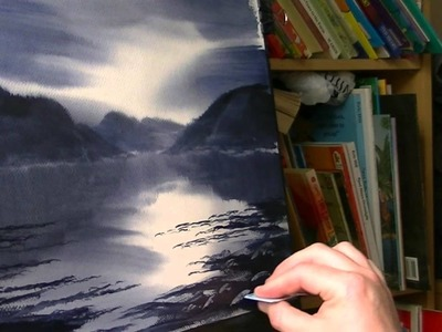 How to Paint Light Reflecting off the Water