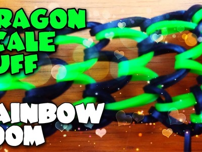 How To Train Your Dragon Scale Cuff Rainbow Loom