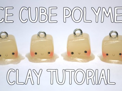 Ice Cube Polymer Clay Tutorial