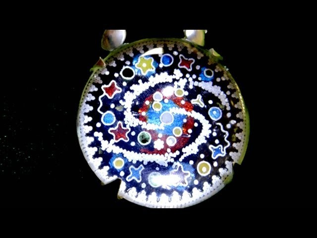 Jewellery Making Granulated Cloisonné Enamel Rock Crystal