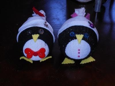 Jus4SweetZ Easy Sock Penguin