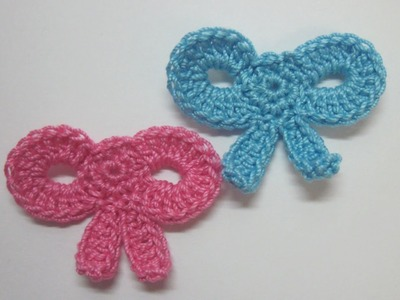 Make a Cute Crocheted Applique Bow - DIY Crafts - Guidecentral