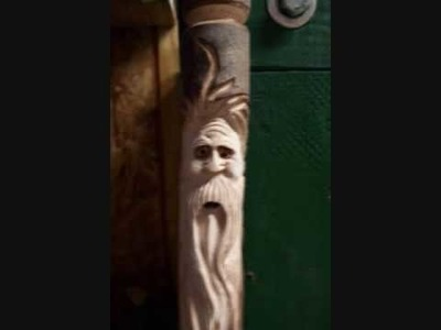 MAKING A WOODSPIRIT WALKING STICK