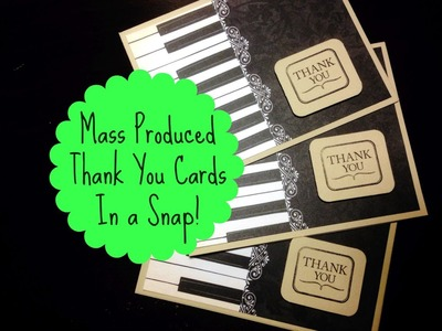 Mass Produce Greeting Cards in a Snap!