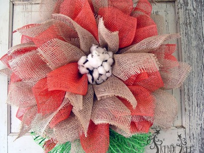 Mesh Flower Tutorial with Poly Jute & Poly Burlap by Trendy Tree