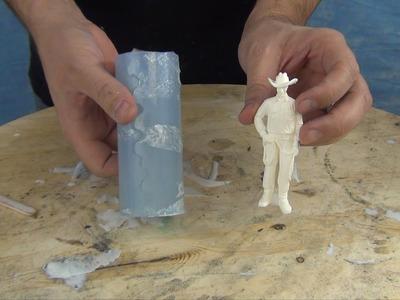 Mold Making & Casting Tutorial: 73-20 Figurine Mold