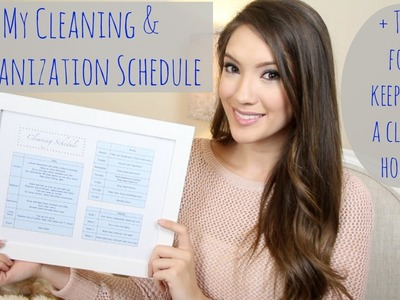 My Cleaning & Organization Schedule + Tips for a Clean Home!   Blair Fowler