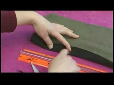 No-Sew Fleece Hat, Scarf & Pillow : Cutting a No-Sew Fleece Scarf