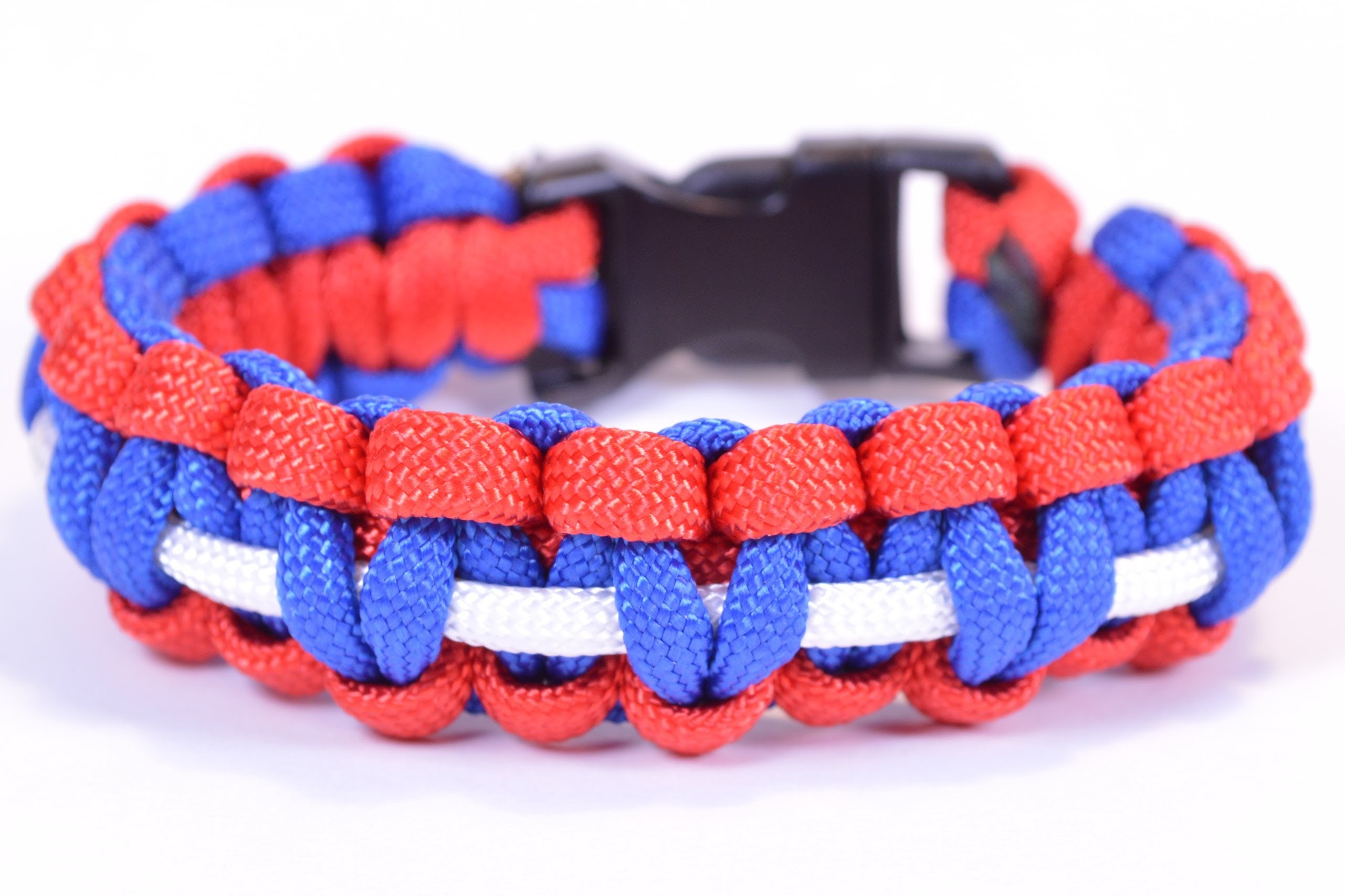 Olympic Pride Bracelet USA - How To Video - BoredParacord
