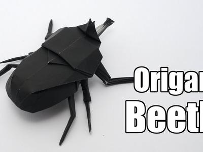 Origami Beetle (Jo Nakashima)