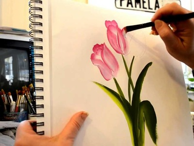 Paint Fast and Easy Tulips