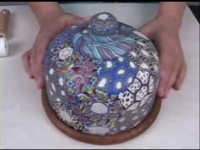Polymer Clay TV Episode #65 Covering Glass