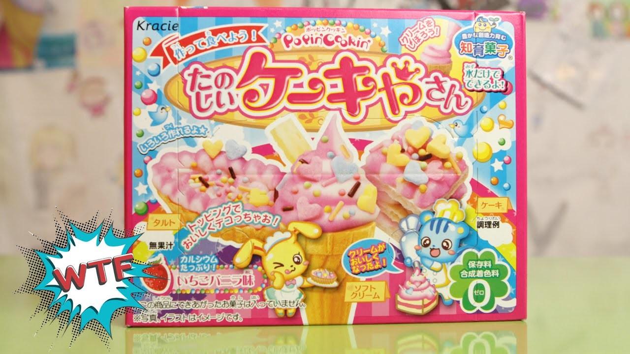 Popin Cookin Ice Cream Candy Kit