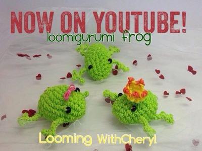 Rainbow Loom Frog - Loomigurumi - Looming WithCheryl