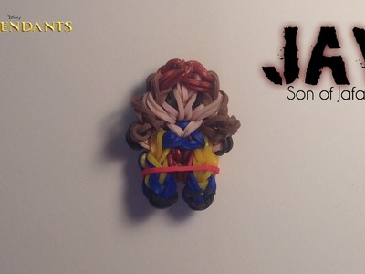Rainbow Loom Jay Charm | Descendants [Tidbits Series]