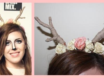 Really Easy DIY Deer Antlers | Ava Drzazgowski