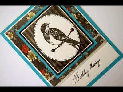 Shabby Spring StampTV Kit and Card Project