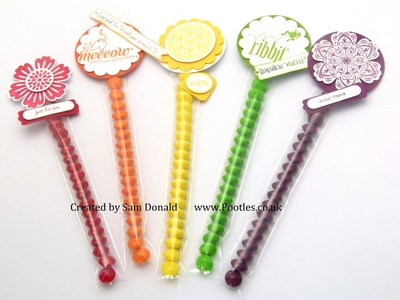 Stampin Up Sweetie Treat Tubes