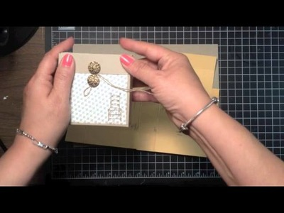 Stampin' Up! Video Tutorial Have a Seat 3 x 3 Box
