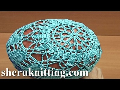 Summer Crochet Hat Tutorial 74 Part 1 of 2