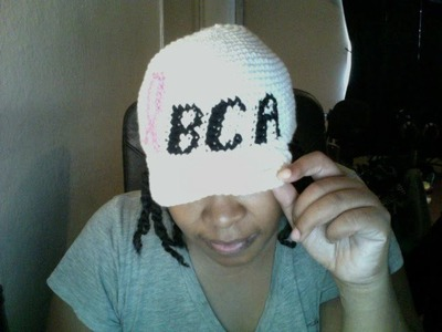 Tutorial Tuesday #54 ( Breast Cancer Awareness hat Part 1.2)
